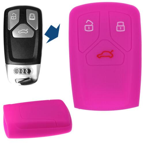 Clé Voiture Housse De Protection Rose pour audi a4 s4 q7 TT RS a5 s5 car key cover