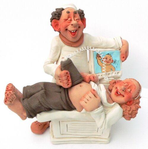 Women Pregnancy Baby Birth Born Mother Ultrasound Gynecologist Doc Figurine Gift