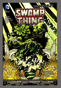 SWAMP-THING-Vol-1-RAISE-THEM-BONES-The-New-52-DC-Comics-TPB-Graphic-Novel