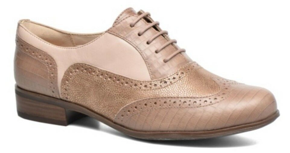 Clarks Ladies shoes HAMBLE OAK Nude Combi UK 5   38