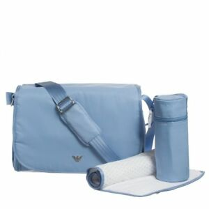 7fbf714c6f9b Image is loading ARMANI-BABY-Blue-Baby-Changing-Bag