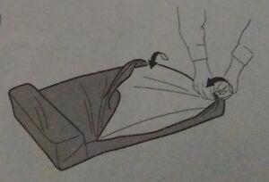 Cuscini Seduta Divano Ikea.Dettagli Su Fodera Cuscino Da Seduta Divano Letto Ikea Ektorp 3 Posti Colore Nero