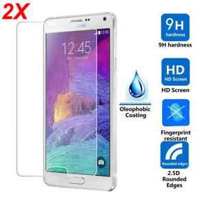 For-Samsung-Galaxy-S10-9-8-7-Tempered-Glass-Protective-Screen-Protector-Film-2X