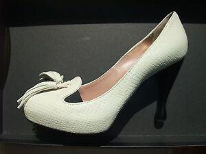 à 5 3 6 Eu Us Nouveau talons en Uk Emporio Armani 3 Chaussures 36 cuir pqwqRt7Z