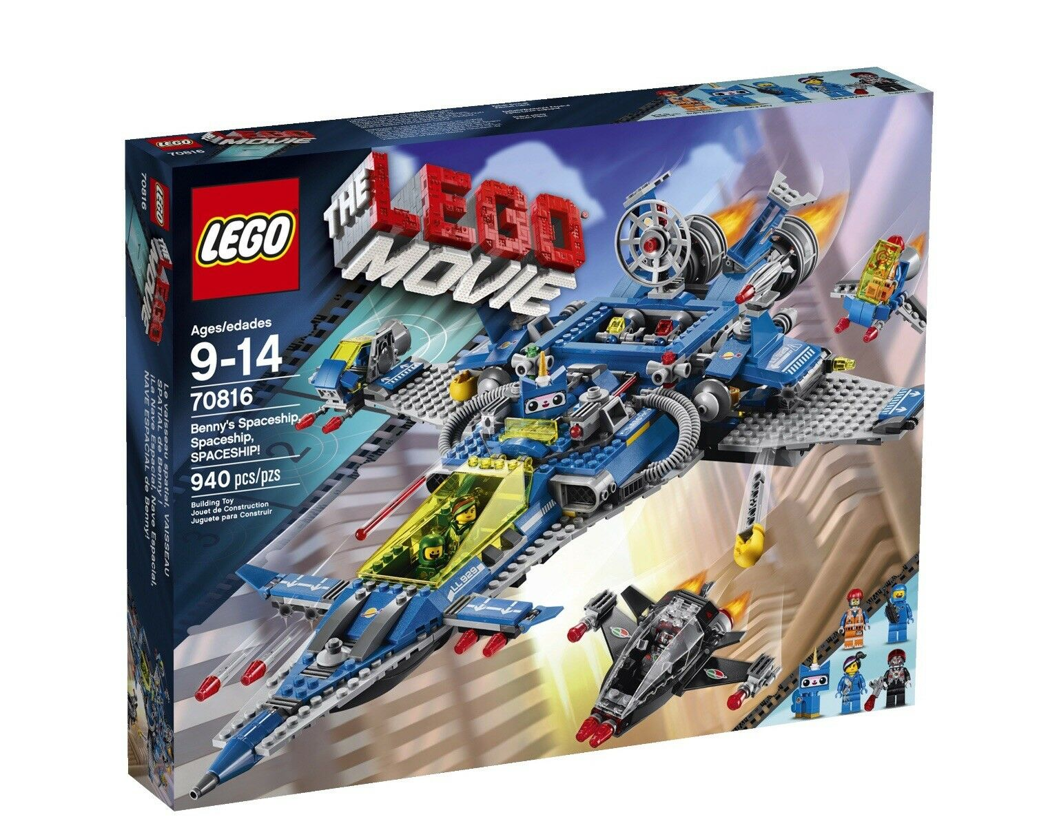LEGO Movie 70816 Benny's Spaceship, Spaceship, Spaceship  New Sealed Retirot