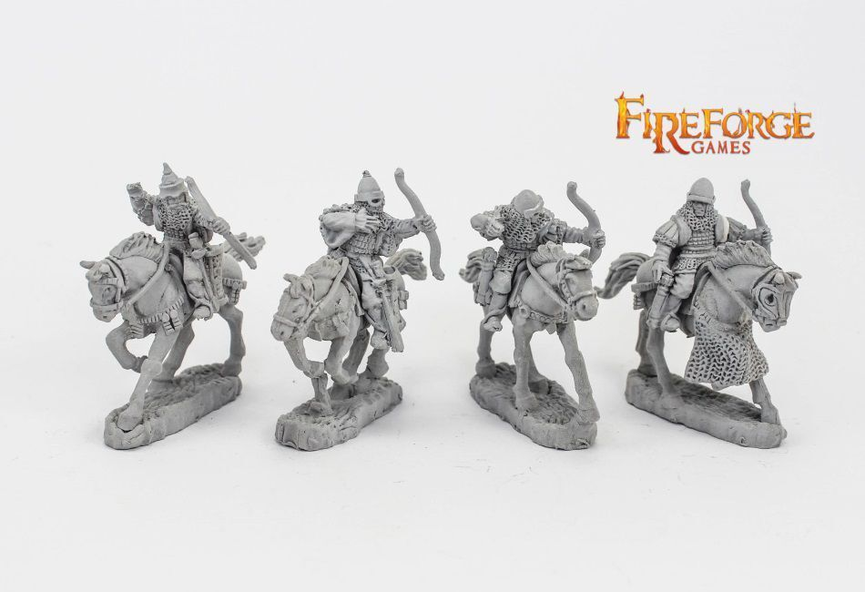Junior Druzhina with Bows Fireforge Games Medieval Middle Ages Knight Knight