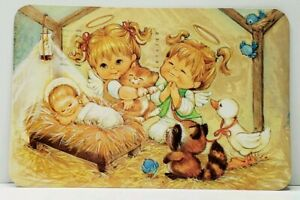 Children-Nativity-Hope-Your-Christmas-is-Just-Heavenly-Postcard-J10