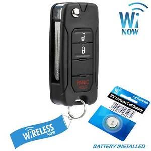 NEW Keyless Entry Remote Key Fob For a 2011 Jeep Wrangler COMBO 3BTN DIY Program