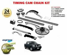 FOR NISSAN NAVARA D40 2.5TD 2006-2010 NEW COMPLETE TIMING CHAIN KIT *OE QUALITY*