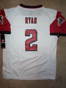 884d8075 Details about *IRREGULAR* Atlanta Falcons MATT RYAN nfl NIKE Jersey Youth  Kids Boys (L-LARGE)