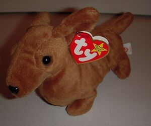 6ec71c931c2 Image is loading Ty-Beanie-Baby-034-Weenie-034-The-Dachshund-
