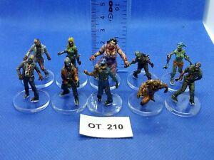 RPG-Rol-Modern-Apocalypse-Zombis-Variados-de-Zombicide-x10-Pintados-OT210