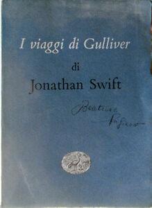 ✅ 1953 Libro Jonathan Swift I VIAGGI DI GULLIVER Giulio Einaudi Editore