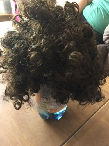 Stag//Hen Party Brown Footballers Perm  wigs