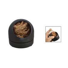 Soldering Iron Tip Cleaning Wire Nozzle Cleaner Sponge Ball W Storage Holder Ad