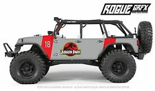 Axial SCX10 Rubicon or CRC Edition Body Graphic Wrap Skin- Jurassic