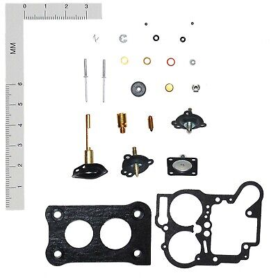 HOLLEY 2 BARREL 5200C CARBURETOR KIT 1977-1981 FORD MERCURY 140 ENGINE