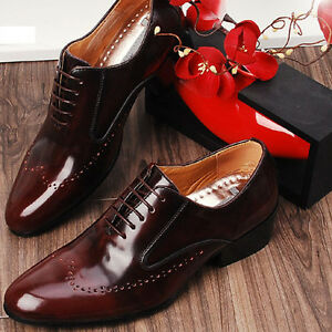 Designer Mens Leather Italian Classic Style Dress Shoes  eBay