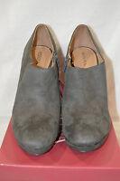 Women's Merona® Molly Grey Heel Bootie - Size 11
