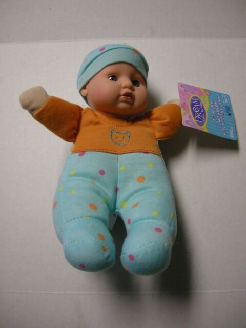 Dream Collection Soft Body Baby Doll 9 Stuffed Toy Assorted Color