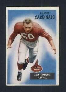 1955-Bowman-27-Jack-Simmons-EX-EX-88884