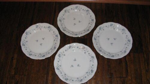 Bavaria Germany Excellent! Dinner Plates Blue Garland 10 In 4 Johann Haviland