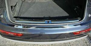 To Fit Porsche Macan 2014Up Chrome Rear Bumper Protector Scratch Guard S.Steel
