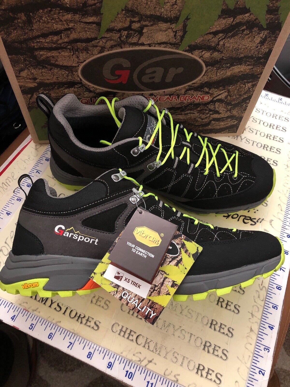 Nouveau Garsport rapide Hike Low Tex Chaussures De Randonnée (11.5-12 M    45EUR) Made in Europe