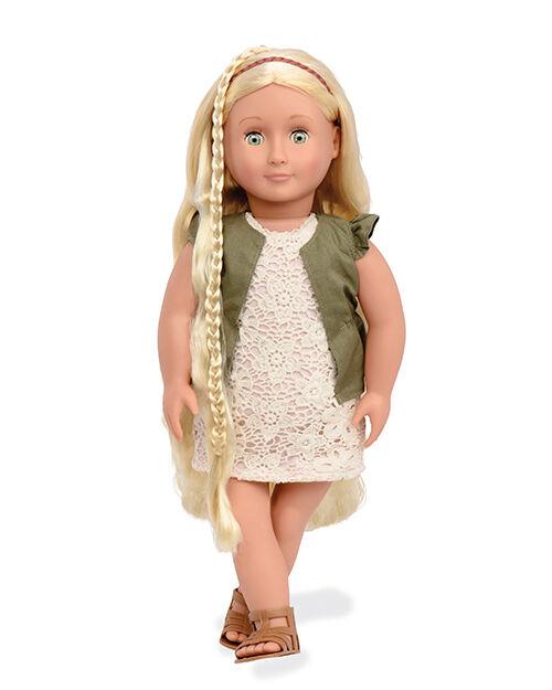 Our generation-Pia  frisierpuppe 46 cm capelli biondi  vendita economica