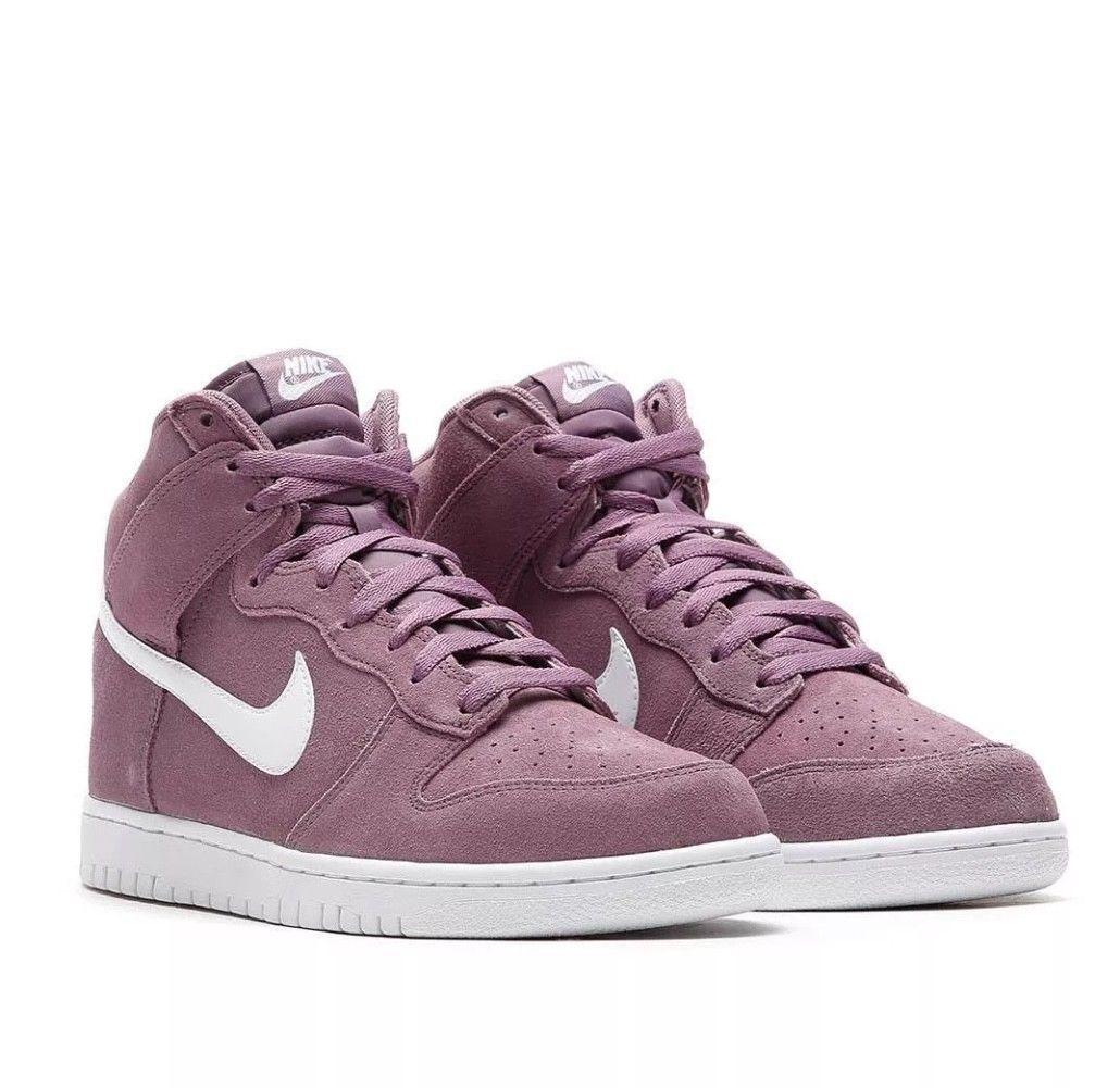 Mens Nike Dunk Hi 904233-500 Violet Dust Brand New Size 9.5