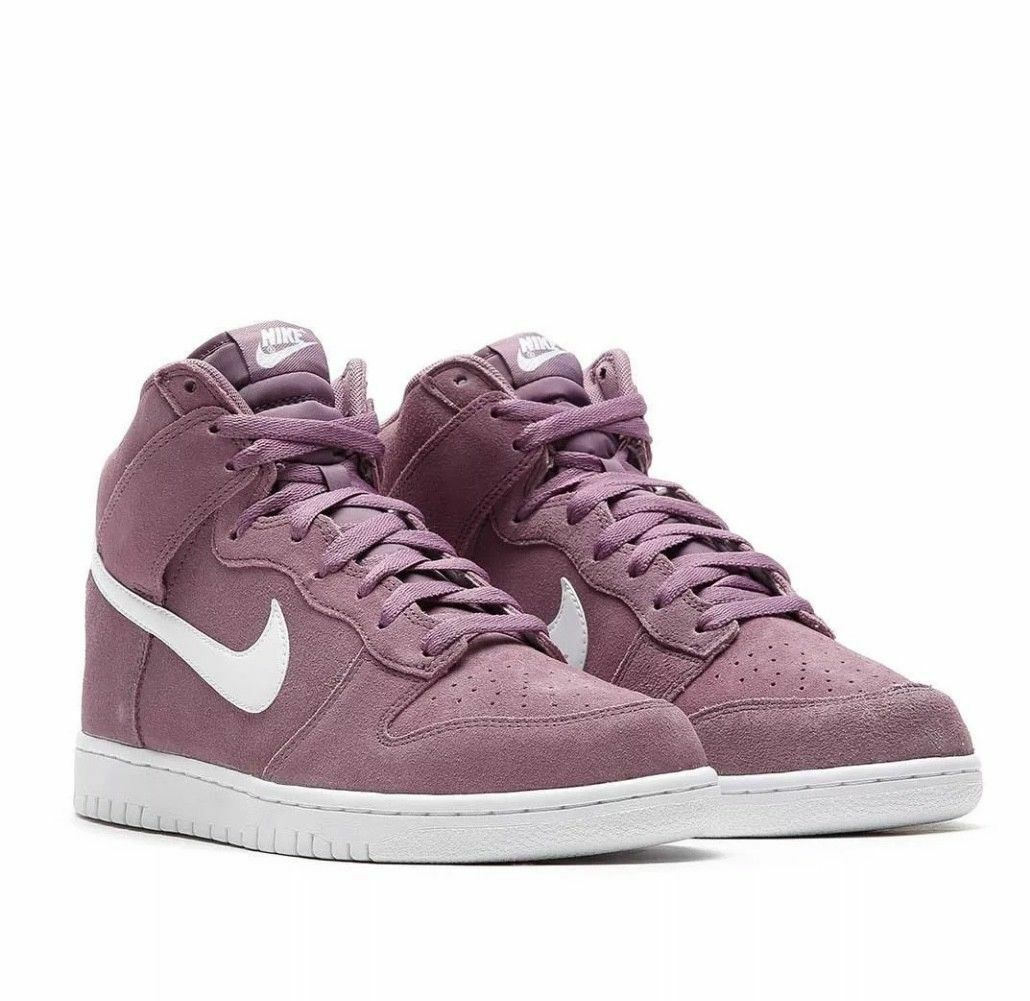 Uomo Nike Dunk Hi 904233-500 Violet Dust Brand New Size 11