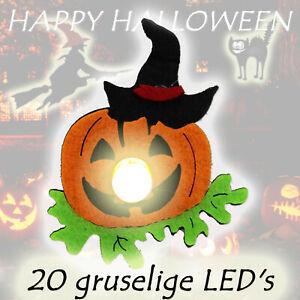 2x-HALLOWEEN-LED-LICHTERKETTE-inkl-Batterie-mit-Timer-20-Lichter-KURBIS-729
