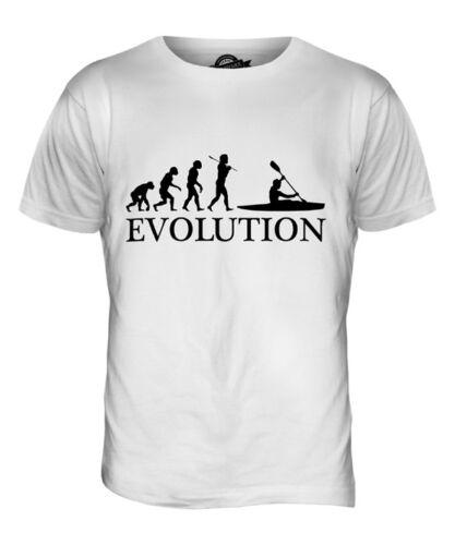 KAYAK EVOLUTION OF MAN MENS T-SHIRT TEE TOP GIFT CLOTHING KAYAKING supplier