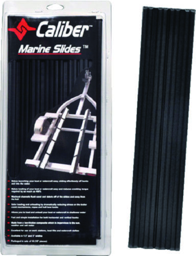 """Boat Marine Trailer Bunk Slide 1.5/"""" X 15/"""" Black Pack of 10 Launch Launch Easy"""