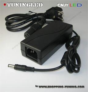 transformateur convertisseur transfo secteur pour bande led 220v 12v 30w 3a ce ebay. Black Bedroom Furniture Sets. Home Design Ideas