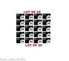 Lot 20 OEM Motorola BT51 Battery Z6M Z6tV K1M K1 W385