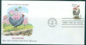 US-FDC-1953-2002a-BIRDS-AND-FLOWERS-cancelled-1982-NOT-ADDR