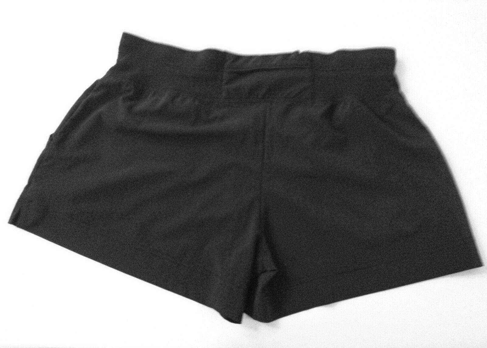 En sueur BETTY Noir courtes Taille M Taille Élastique 2 poches côté porté une fois