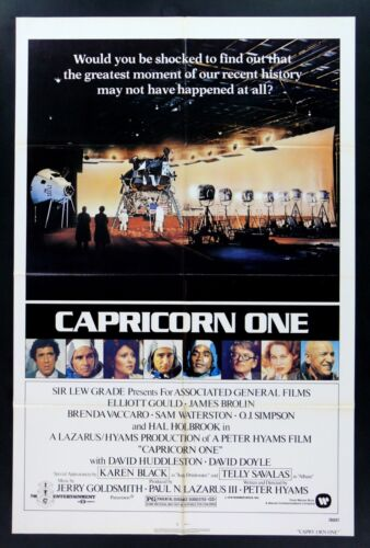 CAPRICORN ONE ORIG MOVIE POSTER 1978 SPACE ASTRONAUT