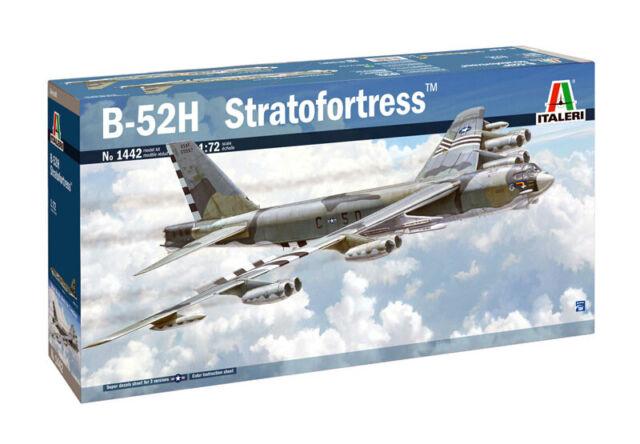 Italeri Ita1442 172 B-52h Stratofortress Model Building Kit Multi-color for sale online
