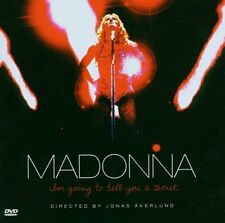 Madonna - I'm Going to Tell You a Secret CD & DVD FREE SHIPPING