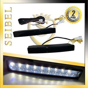 LED-de-circulacion-diurna-set-e4-r87-marca-grabada-Smoke-DRL-High-Power-Negro-para-Smart