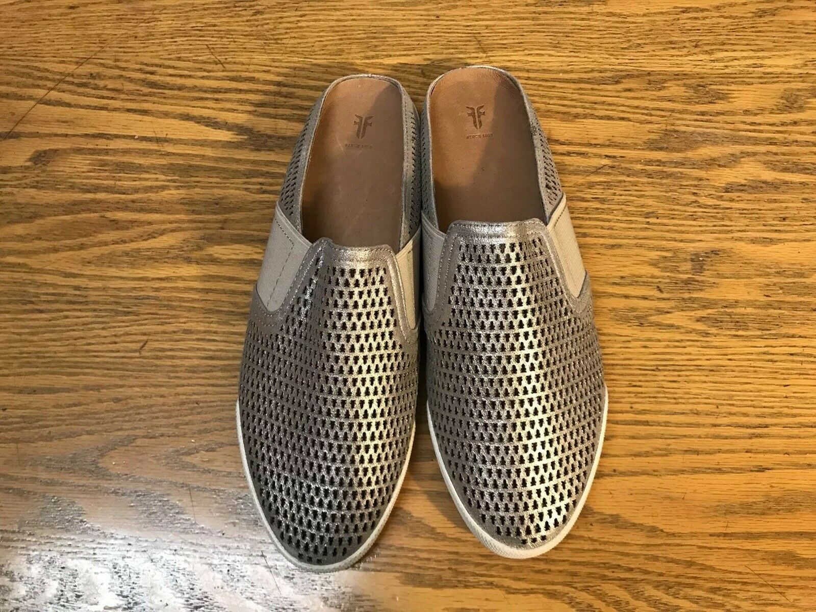 FRYE MELANIE PERFORATED LEATHER MULE SHOES NEW SIZE SIZE SIZE 8.5 8c8343