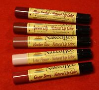 The Naked Bee Lip Colors All Five(5) Different Shades For One Great Price