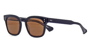 NEW Dita Mann Sunglasses DTS102-51-03A Navy Blue Brown AUTHENTIC DTS102 classic