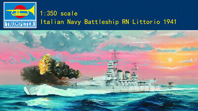 Neu Trumpeter 05319-1:350 Italian Navy Battleship RN Littorio 1941
