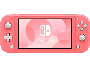 Consola - Nintendo Switch Lite, Portátil, Controles integrados, Coral