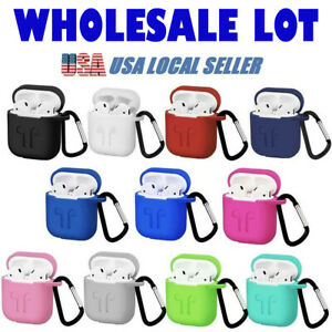 Airpods Silicone Case Cover Protective Skin For Apple Airpod Wholesale Bulk Ebay