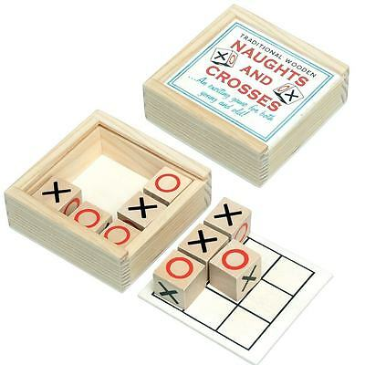 dotcomgiftshop TRADITIONAL NAUGHTS & CROSSES GAME IN A WOODEN BOX