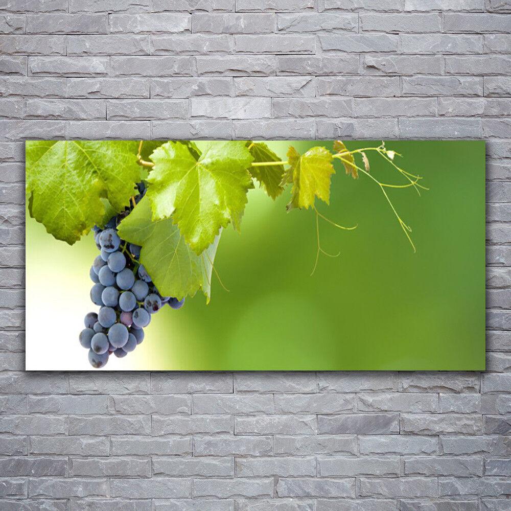 Photo sur toile Tableau Image Impression 120x60 Cuisine Raisin